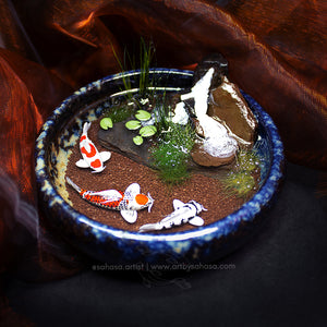 Unity VII - 100mm Miniature Koi Pond