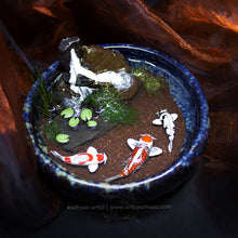 Load image into Gallery viewer, Unity VII - 100mm Miniature Koi Pond