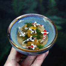Load image into Gallery viewer, Harmony XX - 100mm Miniature Koi Pond