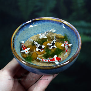 Harmony XX - 100mm Miniature Koi Pond