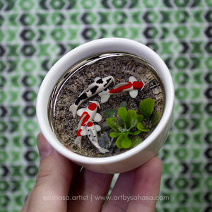 Harmony XXI - 70mm Miniature Koi Pond