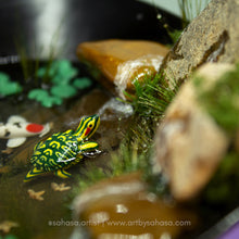 Load image into Gallery viewer, Dreamy XIII - 120mm x 140mm Miniature Koi Pond