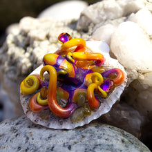 Load image into Gallery viewer, TROPICAL SUNRISE - Shelltopus - Octopus Sculpture