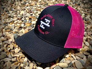 NEW! Black/Pink Low Pro Cap