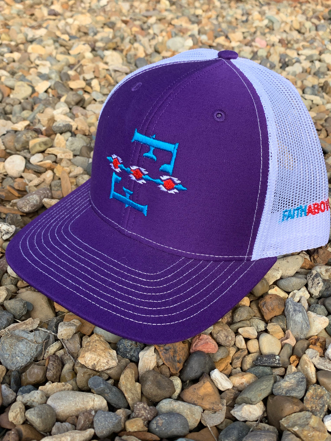 Purple F-F Cap