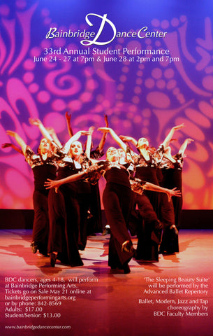Bainbridge Dance Center's 33rd Annual Student Performance