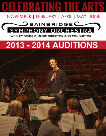 AUDITIONS September 8, 2013: Bainbridge Symphony Orchestra