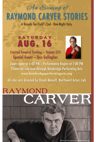 An Evening of Raymond Carver Stories