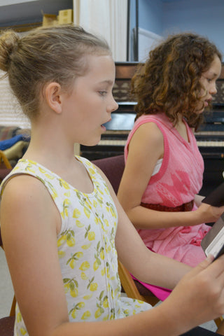Gr 4+: Musical Theatre - Singing Auditions