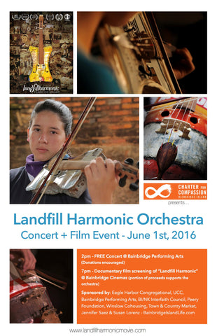 "Landfill Harmonic ""Recycled"" Orchestra"