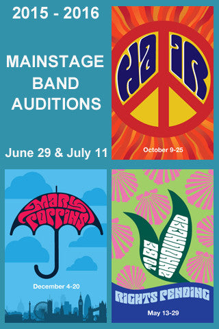MAINSTAGE BAND AUDITIONS 2015