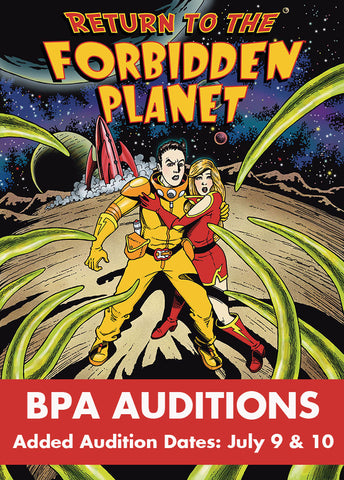 AUDITIONS for RETURN TO THE FORBIDDEN PLANET