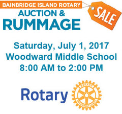 Rotary Auction & Rummage Sale 2017