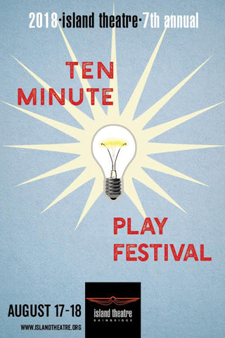 Island Theatre Ten-Minute Play Festival 2018