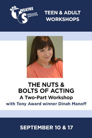 The Nuts & Bolts of Acting
