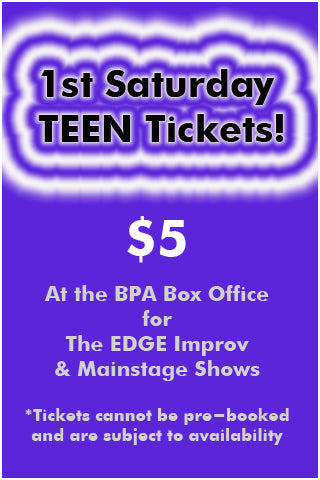 1st Saturday Teen Tickets