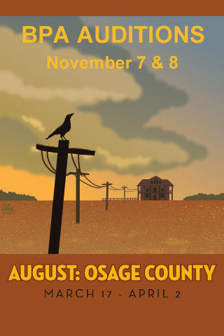 AUDITIONS for AUGUST: OSAGE COUNTY