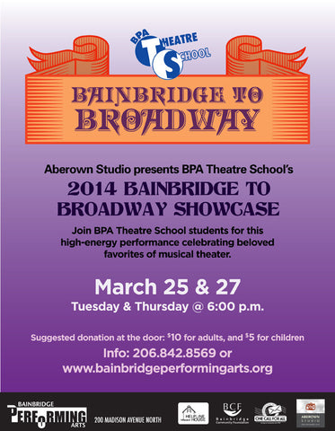 2014 Bainbridge to Broadway Showcase