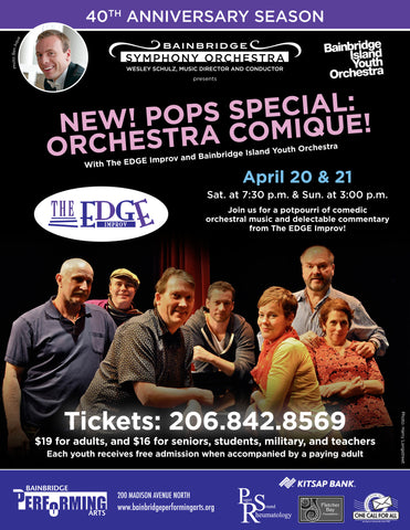 NEW! POPS SPECIAL: ORCHESTRA COMIQUE!