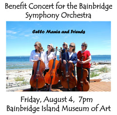 Cello Mania - A BSO Benefit Concert