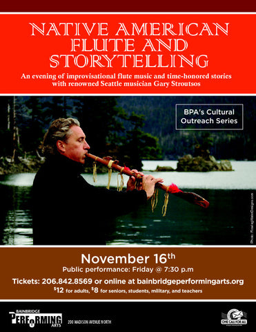 Native American Flute and Storytelling