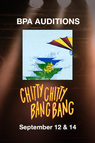 AUDITIONS for CHITTY CHITTY BANG BANG