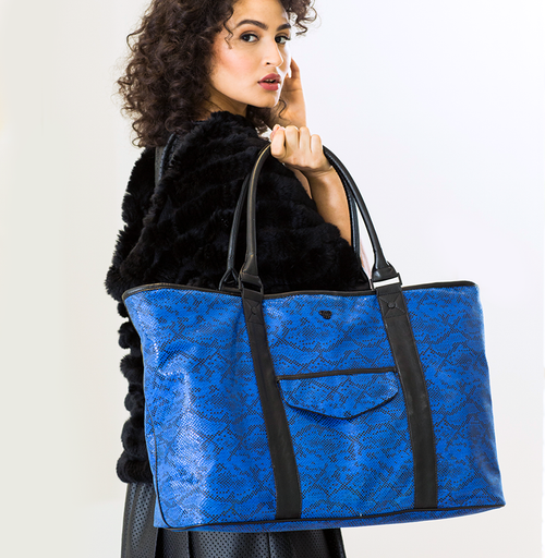 VIP Travel Tote - Blue Allure