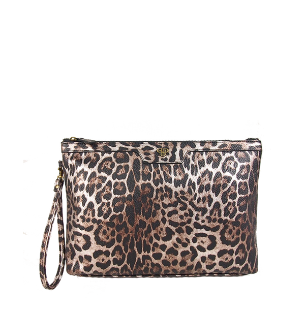 NEW Getaway Litt Makeup Case - Bronze Leopard