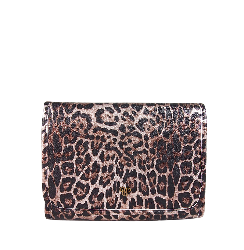 NEW Getaway Toiletry Case - Bronze Leopard