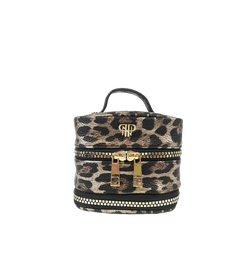 NEW Getaway Weekender Jewelry Case - Bronze Leopard