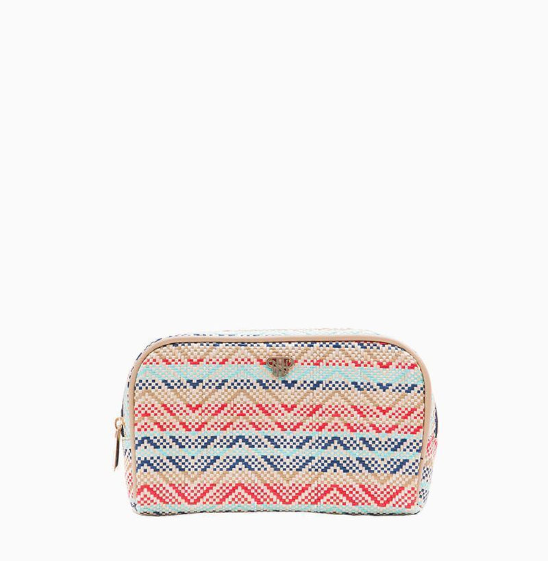 Classic Makeup Case - Sunset Tides