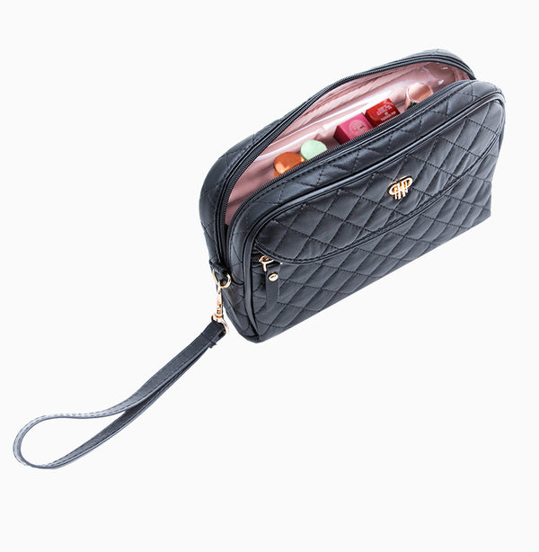 Clutch Makeup Case - Timeless Quilted