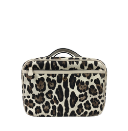 NEW Getaway Liea Toiletry Case - Cream Leopard