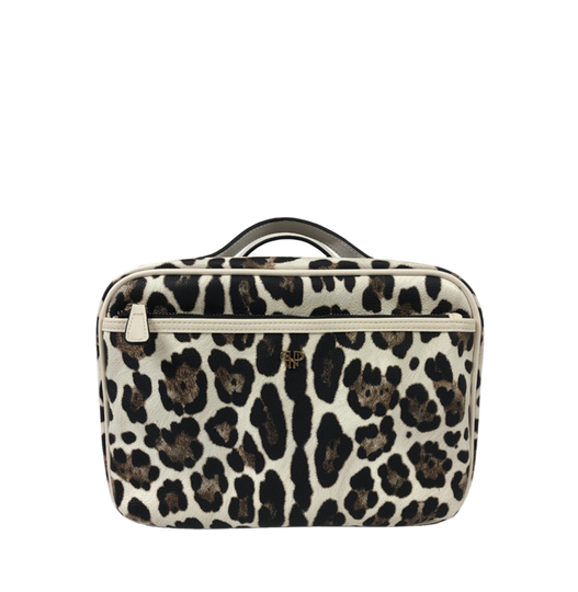 Getaway Liea Toiletry Case - Cream Leopard