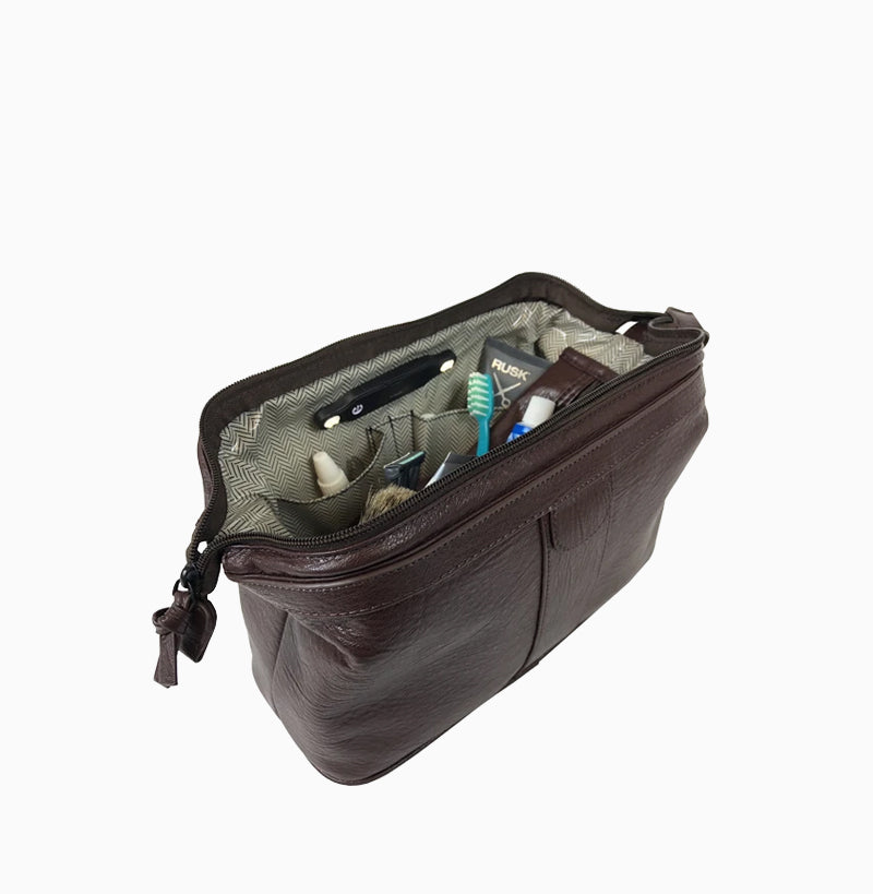 NEW Men's Litt Dopp Kit - Brown