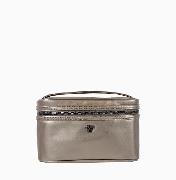 Getaway Train Case - Pewter