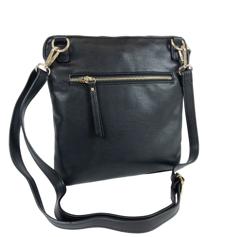 Litt Crossbody Bag - Quilted Black