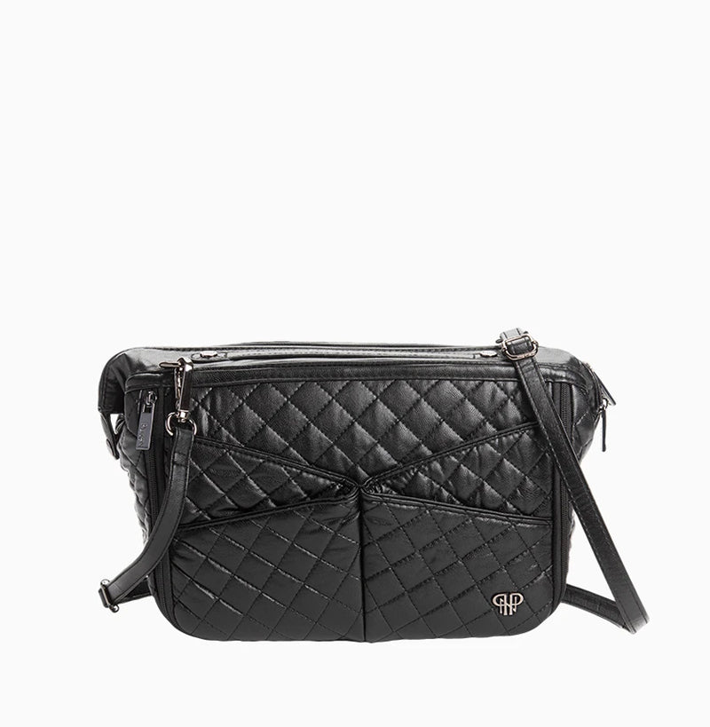 LittBag Organizer Crossbody Strap - Black