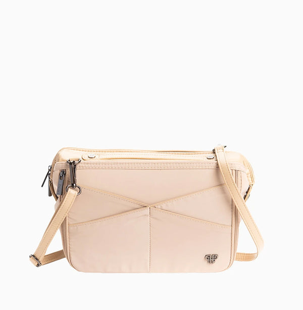 LittBag Organizer Crossbody Strap - Nude