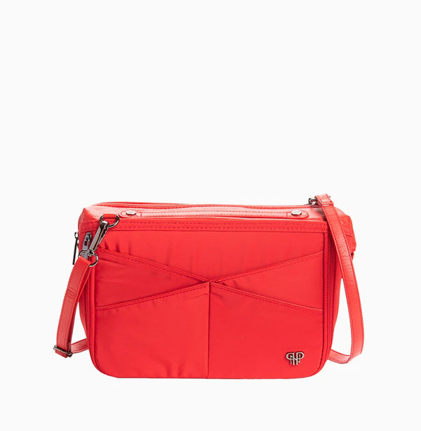 LittBag Organizer Crossbody Strap - Red