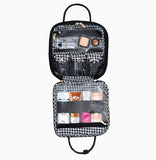 Mini Shelli Travel Bag - Houndstooth