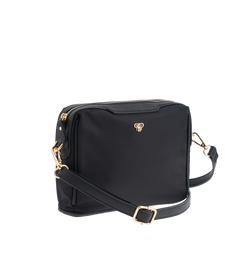 Nylon Litt Crossbody - Black