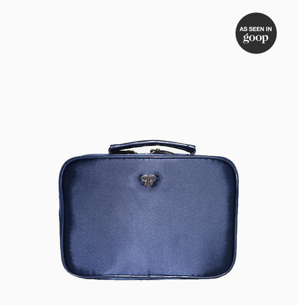 Prima Elite Jewelry Case - Navy Grey