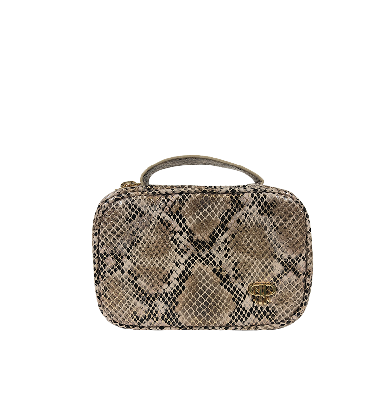 NEW Getaway Mini Jewelry Case - Python