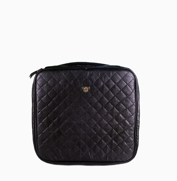 The Cosmetic Case -Timeless Quilted