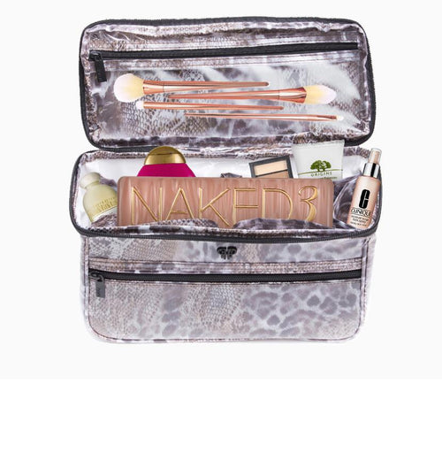 Toiletry Train Case - Wild Coves