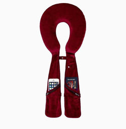 Travel Pillow Organizer - Burgundy