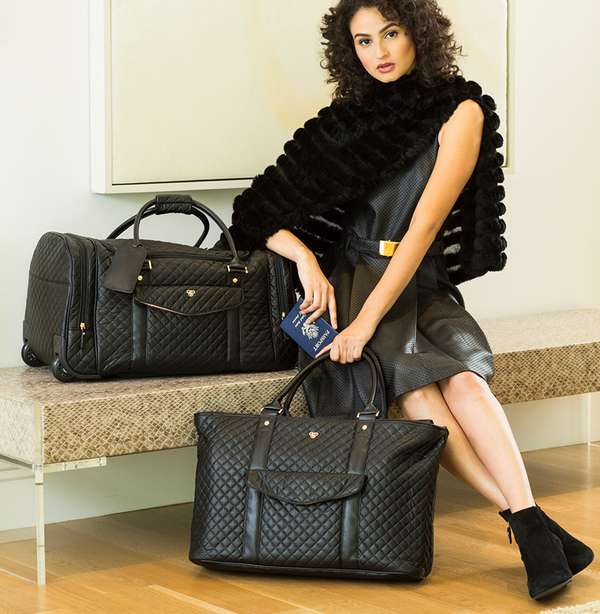 VIP Travel Tote - Timeless Quilted