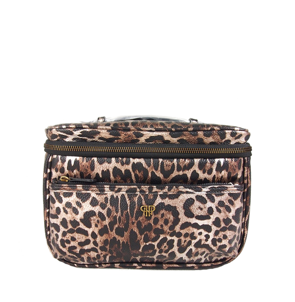 NEW Getaway Classic Train Case - Bronze Leopard