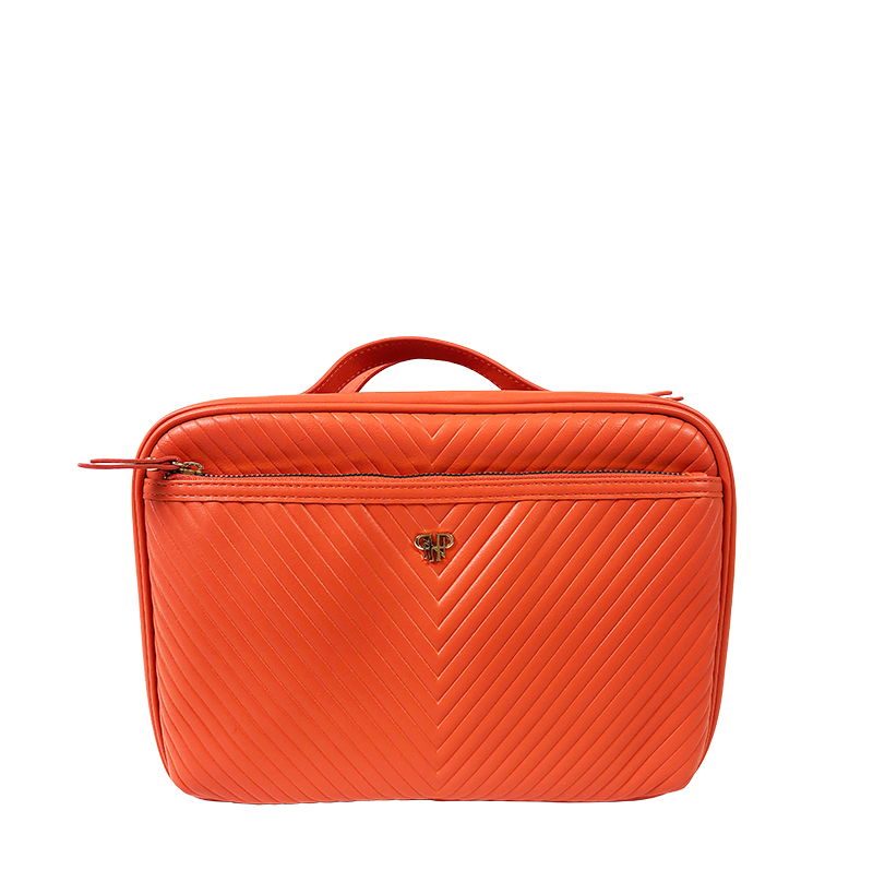 NEW Getaway Liea Toiletry Case - Orange